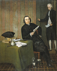 Notary Köhne and his Clerk (Wybrand Hendriks)