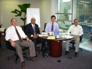 Euclides Tedesco, Flauzilino A. Santos, Augusto Bandeira Vargas e Joelcio Escobar