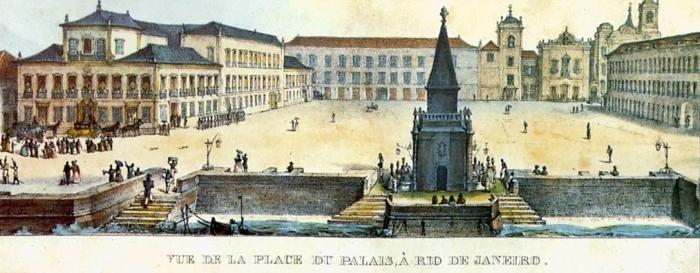 Paço Imperial (c. 1830, Jean Baptist Debret)