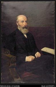Portrait of Sir Robert Torrens (Upton, John, c. 1880)